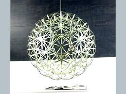 round crystal chandelier ball new