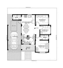 3 bedroom bungalow house designs 10 single story modern floor plans with