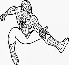 Small Picture Stunning Spider Man Coloring Book Pictures Amazing Printable