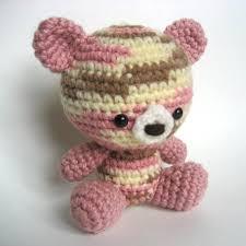 Crochet Teddy Bear Pattern Simple Amigurumi Crochet Teddy Bear Pattern Etsy