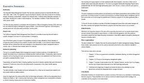 Management Summary Template Custom 48 Free Executive Summary Templates For Crisis Management