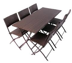 folding patio dining table patio table and chairs folding patio furniture set foldable patio dining table