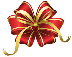 Transparent Christmas Red Decorative Bow PNG Clipart   Новый год ...