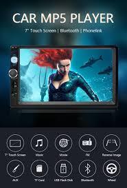 "<b>Jansite 7</b>"" <b>1080P FHD</b> Car Radio MP5 player DVD Digital Touch ..."