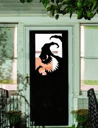 Diy Halloween Decorations Home Halloween Vinyl Door Decal Or Window Oogie Boogie Silhouette Custom Sizedu2026 Diy Decorations Home A