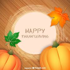 Happy Thanksgiving Greeting Card Vector Free Download
