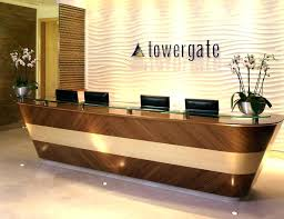 office reception table design. Modern Office Reception Design Backdrop Table Designs Concept . E