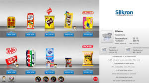 Distributor Vending Machine Indonesia Mesmerizing Silkron Smart Vending Smart Kiosk Smart Interactive Digital