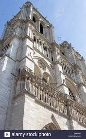 la sorbonne faaade catac nord de la. The Western Facade Of Notre-Dame De Paris. - Stock Image La Sorbonne Faaade Catac Nord