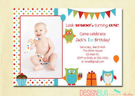 fabulous 1 year old birthday party invitations