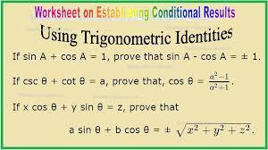 using trigonometric identities hints