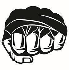 Mma fist clip art