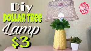 dollar tree diy pineapple lamp