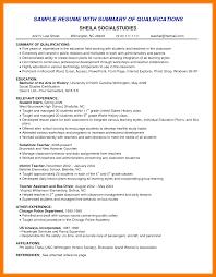 8 Summary Statement Examples Mbta Online