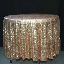 90 inch round tablecloth excellent inch round gold sequin tablecloth overlay event decor group intended for
