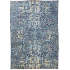 modern carpet texture. Contemporay Silk And Wool Rug, Abstract Design. With Blue Gray For Sale Modern Carpet Texture R
