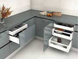 soft close drawers box: drawer box slim presentation and use of soft close drawers by emuca from buller ltd
