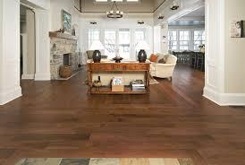 image of hickory hardwood flooring dark