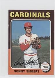 1975 Topps - [Base] - Minis #328 - Sonny Siebert