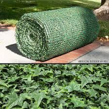outdoor artificial ivy diy green wall