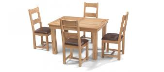 oak dining table and chairs. Constance Oak 125 Cm Dining Table And 4 Chairs