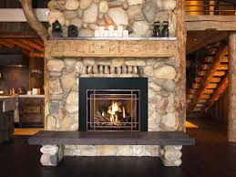 fireplace hearth granite