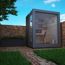 Image Room Garden Office Pods Are Modern Spaces Where You Can Comfortably Work All Year Round Home And Garden Garden Office Is Cost Effective Way To Create Designated Work