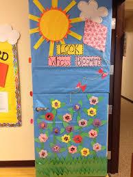 spring ideas for classroom doors Spring classroom door Projects