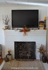 mantel decor with tv home decorating ideas regard to 6 fireplace mantel with tv decorating ideas c81 decorating