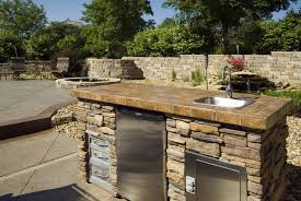 Builtin Backyard Kitchens In Santa Barbara Builtn BarbequeBackyard Kitchen