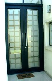 etched impact glass front doors door numbers satin window elite inkwell right exterior frosted inserts for