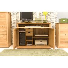 baumhaus mobel oak armoire desk reviews wayfair uk bonsoni mobel oak hideaway