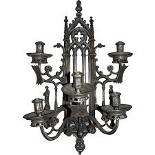 catchy gothic wall sconce 1000 images about sconces on antiques french and