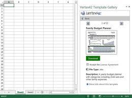 Vertex42 Template Gallery
