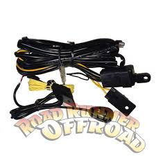 arb auxiliary light wiring loom for driving spot lights 130w x2 arb auxiliary light wiring loom for driving spot lights 130w x2