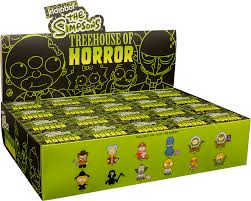Kidrobot 2013 Release THE SIMPSONS TREEHOUSE OF HORROR 3Simpsons Treehouse Of Horror Kidrobot