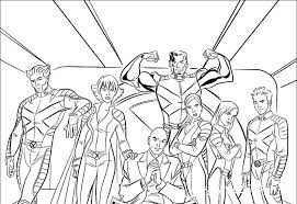 And, i was wondering who the ''clawed'' gal is on the right side. X Men Coloring Pages Cartoons For 6 Years Kids Handcraftguide