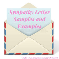 Letter Samples Sympathy Letter Samples And Examples Sympathy Card Messages