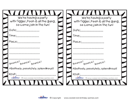 Print Out Birthday Invitations Free Printable Black And White Birthday Invitations Best Party Ideas 50