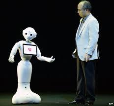 Pepper robot de gezelschapsrobot van Softbank