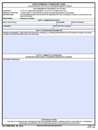 da form 4186 download fillable da 4856 developmental counseling form pdf