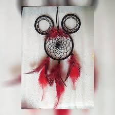 Mickey Mouse Dream Catcher Simple Mickey Mouse Dreamcatcher Oormani Angadi