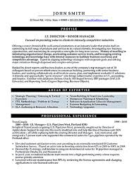 It Manager Resume It Manager Resume Consist Of Objective Or