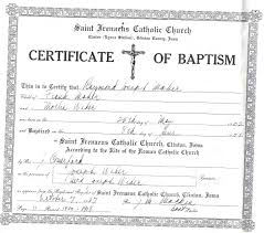 Blank Baptism Certificate Filename Down Town Ken More