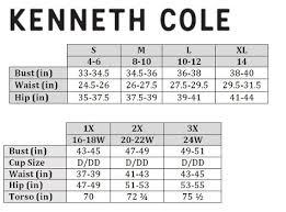 Kenneth Cole Plus Size Swimwear Size Chart 34 Competent Kenneth Cole Swimwear Size Chart