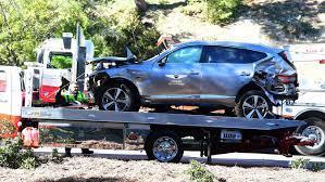 Schwerer Autounfall: Für Tiger Woods geht es erst mal nicht mehr um Golf -  GrenzEcho