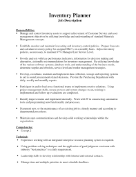 Sample Resume For Inventory Manager Inventory Control Resume Objective Coordinator Sample Examples Job 20