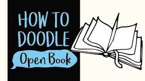 how to draw an open book easy step by step drawing and coloring tutorial
