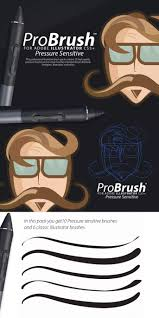 probrush pressure sensitive for adobe ilrator vector brush adobe ilrator brushes blushes