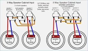 wiring diagram for guitar speaker cabinet & parallel \& series 4 Ohm Subwoofer Wiring at Wiring Diagrams For 4 16 Ohm Speakers